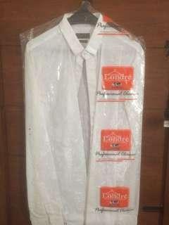 Kemeja Putih Zara Man Slim Fit