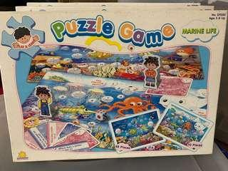 Puzzle Game (Insect, Animal and Marine life)