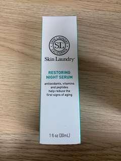 Skin Laundry Restoring Night Serum