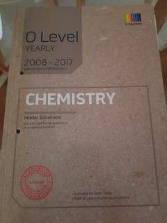 O Level Yearly TYS Pure Chemistry 2008-2017
