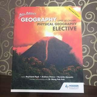 🚚 BRAND NEW all about geography physical geography elective