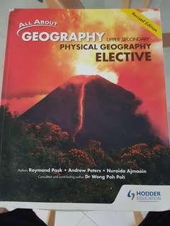 All About Geography Upper Secondary Physical Geography Elective Textbook