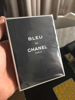 Blue de Chanel eau de toilette 100ml still factory sealed