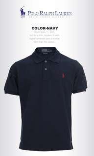🚚 BNWT Ralph Lauren Polo Tee (Navy)