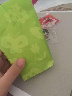 Anime keychains gift bag