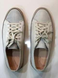 Clarks Shoes Women Lace off White Size US7.5