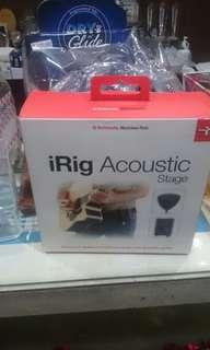 IRig acoustic stage by IKMultimedia (Italy)