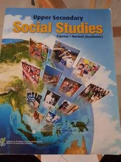 Social Studies Textbook Upper Secondary