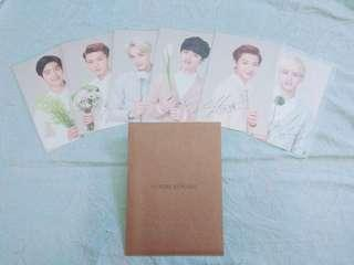 EXO-K NATURE REPUBLIC OFFICIAL POSTCARD