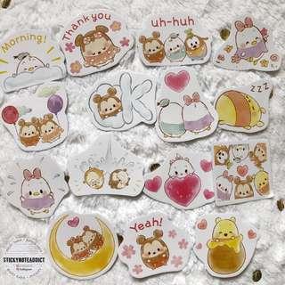 🚚 Tsum Tsum Stickers