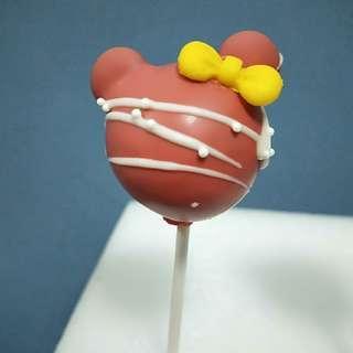 Customize Mickey/Minnie Cake Pop