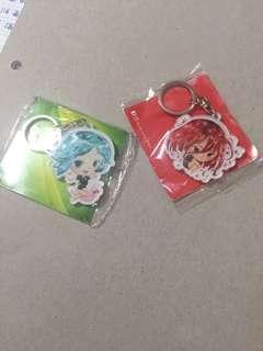 House kinokuni (land of lustrous) anime keychain