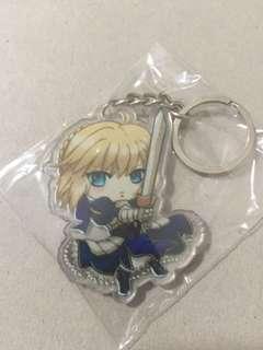 Fate/ stay night anime keychain