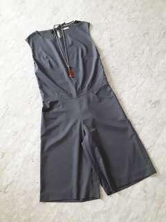 DYel Grey Elegant Jumpsuit