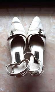 Amory White Woman Shoes (Sepatu Sandal Wanita)