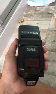 External flash light Canon Speedlite 580EX ii