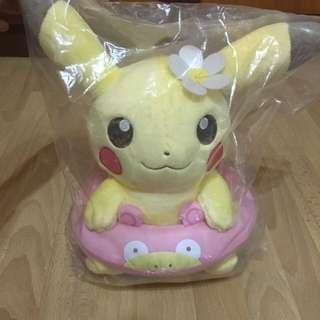 Pokemon and friends Ichiban Kuji Prize C Pikachu Plush