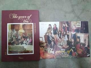 Twice the year of yes album