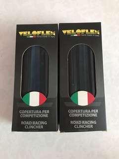 Veloflex mod Corsa 23mm road racing clincher tyres per pair