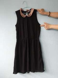 Black and pink dress (Bershka collection)