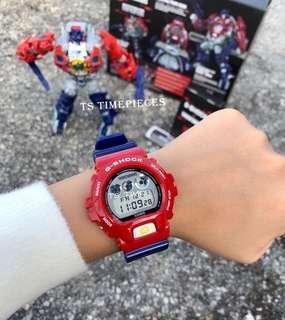😎G Shock x Transformers DW-6900TF-SET ( Japan Set )