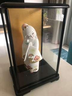Brand new Japanese Doll with Frame