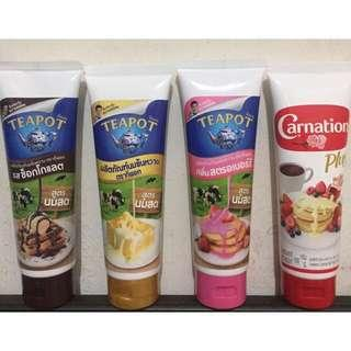 Teapot Tube Milk/Choco/Strawberry