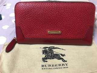 🚚 BURBERRY 經典格紋皮夾