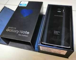 Samsung Galaxy Note FE limited edition swap/ sale