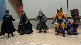 Toy biz action figures