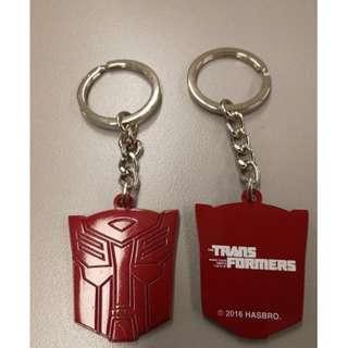 transformer Keychain金屬鑰匙扣