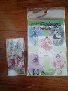 TOUHOU PROJECT POSTCARDS