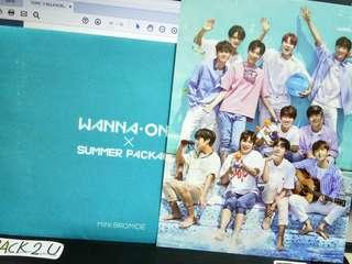 SUMMER PACKAGE WANNA ONE MINI BROMIDE