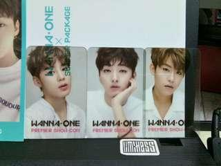 WANNA ONE SHOWCON PC