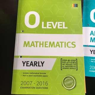 O Level Yearly TYS