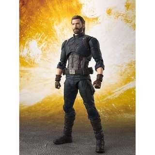 S.H.Figuarts Captain America (Avengers: Infinity War)
