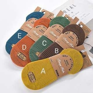 Design 003 Anti-slip boat socks (Back by popular demand!)