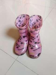 Minnie rain boot