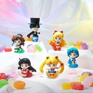 Petit Chara Land Sailor Moon: Candy de Make Up! 6Pack