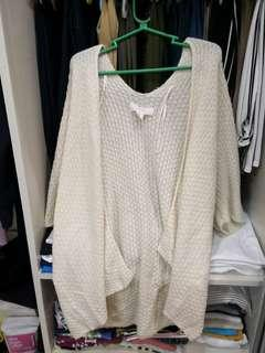 FOREVER21 knit/wool coverup