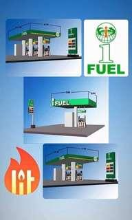 IFUEL Gas station by Ifranchise Business Servives
