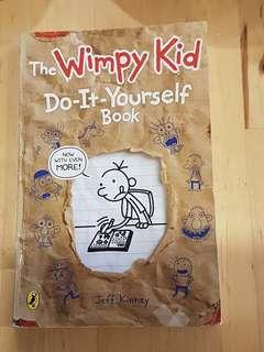 New Wimpy kid do it yourself activity book