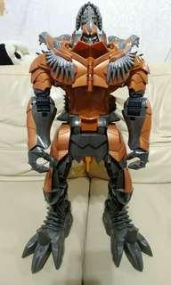 90% new 50cm 高 Hasbro Transformers aoe stomp & chomp  變形金剛 殲滅世紀 鋼鎖 暴龍 柯柏文