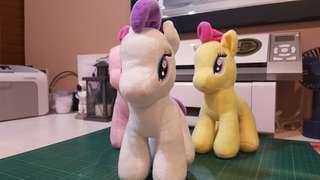 Little pony stuffed toys