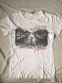 XS White Amsterdam Top