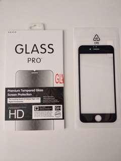 全新Iphone 6 6s 玻璃全屏保護貼(黑色)