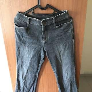 Cutbray Boyfriend Jeans