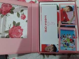 Wanna One Ong Fullset TBO pink ver