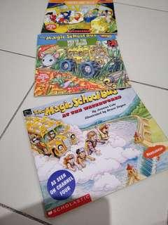 Children story book magic school bus