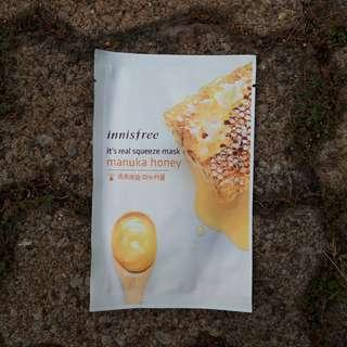 Innisfree squeeze mask Manuka Honey